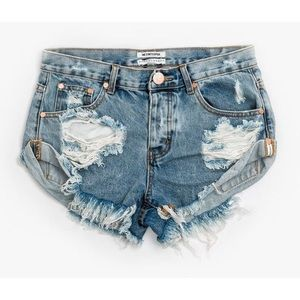 One Teaspoon Bandit shorts, size 28