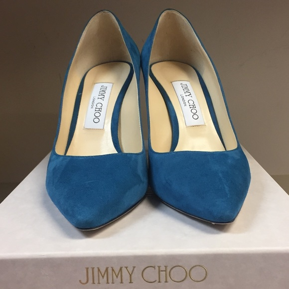 1a229eaa27 Jimmy Choo Shoes | Romy Pumps Midnight Blue Suede | Poshmark