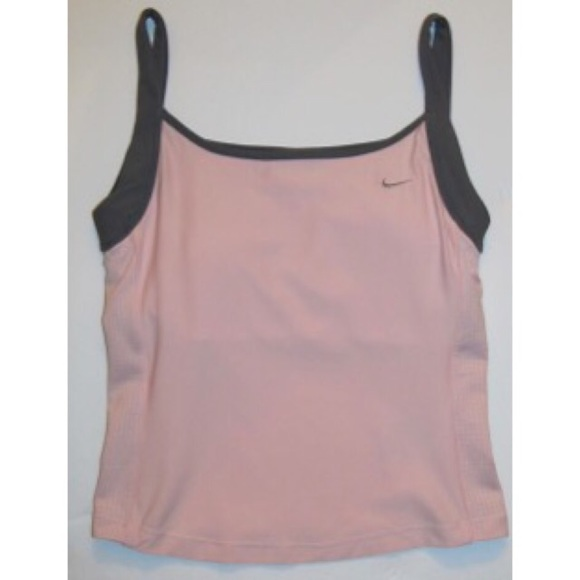 212b88e09cc23 NIKE Dri-Fit Tank Top Sports shelf bra cropped M. M 59b8308ef739bc9c42002d0b