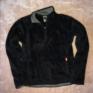 The north face 1/2 zip