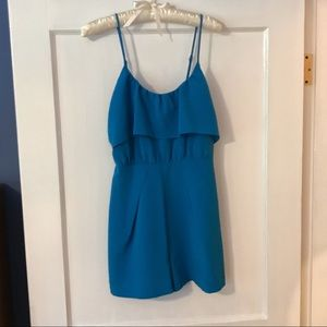 Blue Ruffle Romper   5/48 from Saks Off 5th