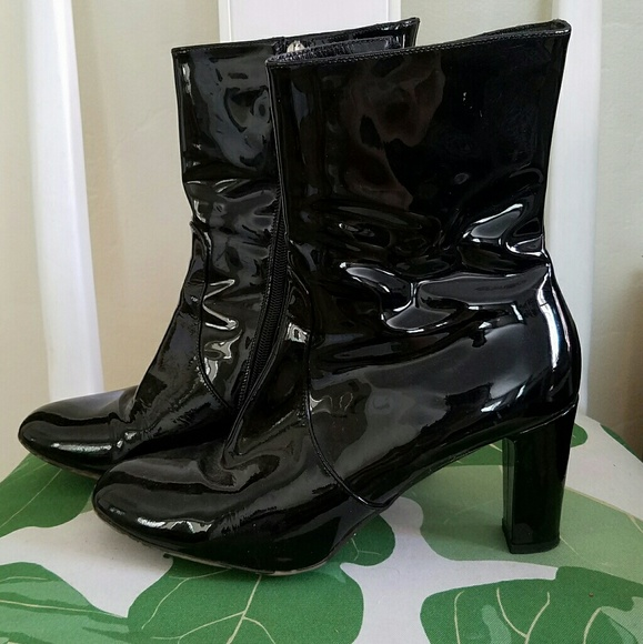 Aquatalia Patent Leather Ankle Boots cheap sale factory outlet 2014 online quality from china wholesale clearance cheap cheap sale limited edition hMXYMoGCO