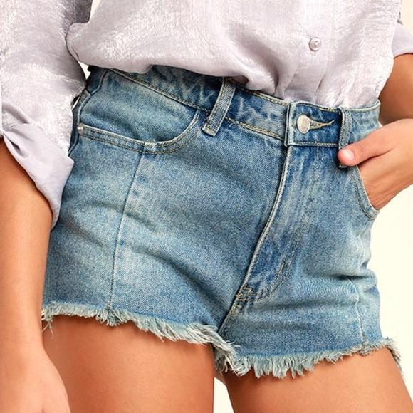 Pants - NWT | Light Wash Cutoff Denim Shorts