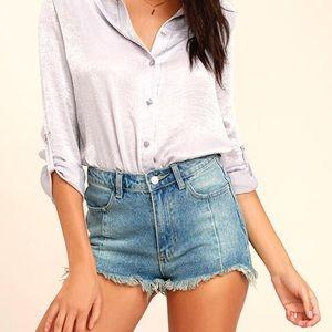 Shorts - NWT | Light Wash Cutoff Denim Shorts
