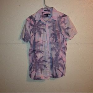 Hawaiian Print Button Down Shirt 🔹Relisting🔹