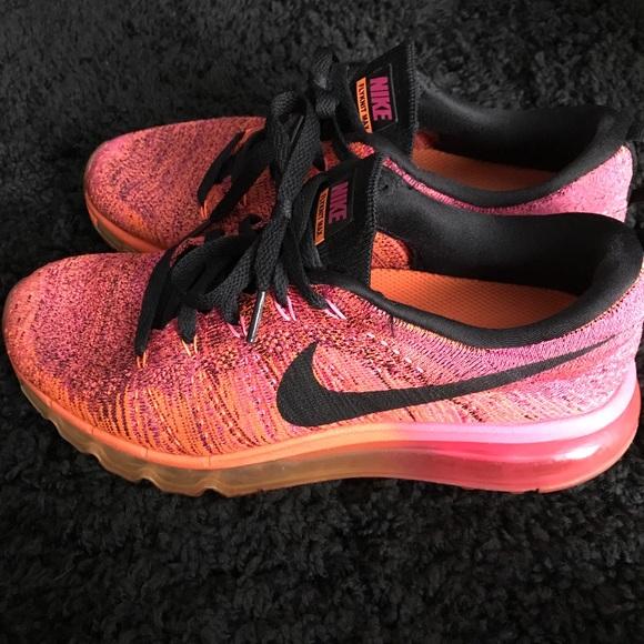 Nike Flyknit AirMax Ombré Pink/Orange