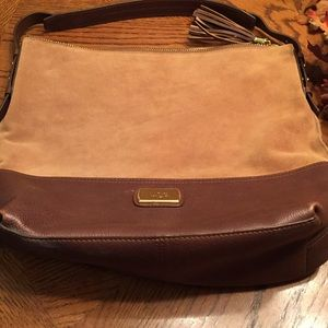 UGG Brown suede Purse