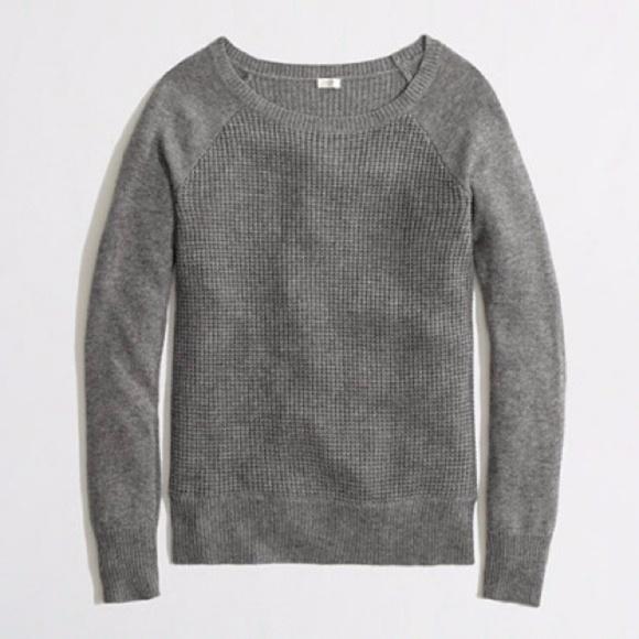 J. Crew Sweaters - Warmspun Waffle Crewneck