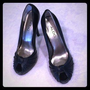 Aldo black heels 4 inches size 38 (8)