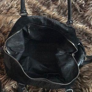 Raven Kauffman Bags - Raven kavffman couture sued and crocodile handbag