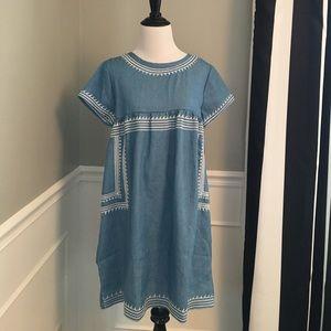 Dresses & Skirts - Mindy MAEs Market Chambray tunic / dress small