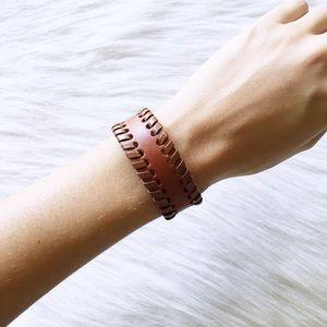 Jewelry - brown wrap bracelet