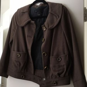 Marc by Marc Jacobs Wool Coat Jacket Brown 2