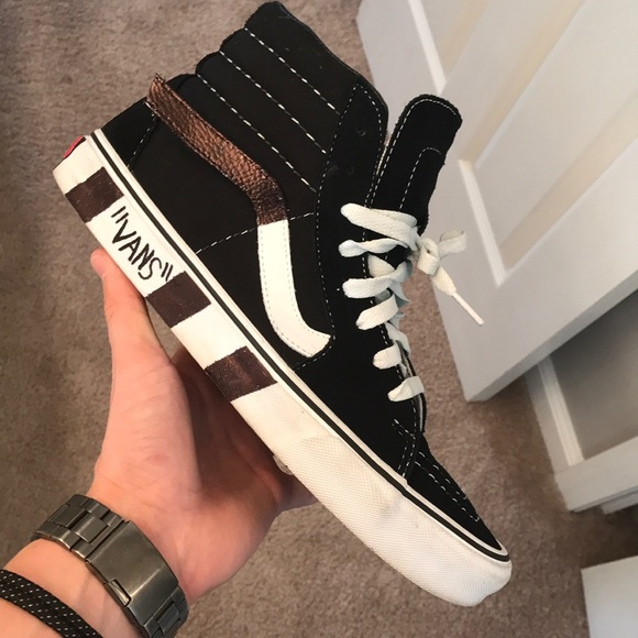 Custom Off White Vans