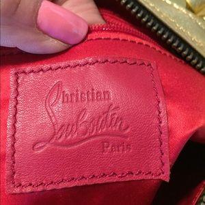 Christian Louboutin bag from Paris sample show