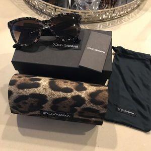Dolce & Gabbana NWOT Lace Retro Acetate Sunglasses