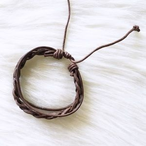 Jewelry - brown braided bracelet