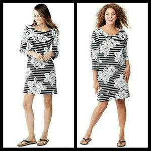 Lands' End Swim Cover Dress