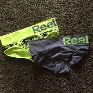 Two pairs of REEBOK panties💛