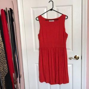 Loft Cut Out Back Dress