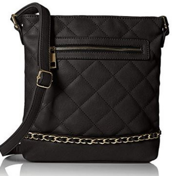 MG Collection Handbags - MG Collection Quilted Messenger Bag