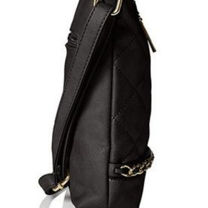 MG Collection Bags - MG Collection Quilted Messenger Bag