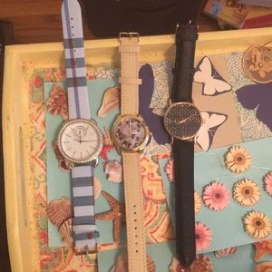 Accessories - 3 fashion watches, new!