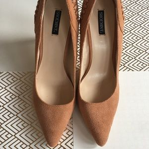 NWOB Shoemint Lulu Suede Pump Heels