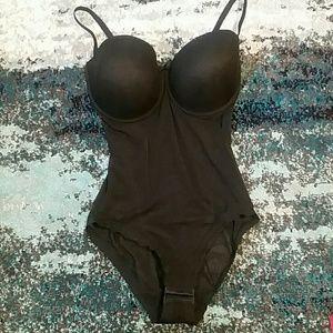 05523acb9db9b Splendour Intimates   Sleepwear - Splendour black mesh multiway body shaper  bodysuit