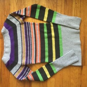 Sweaters - Striped colorful sweater