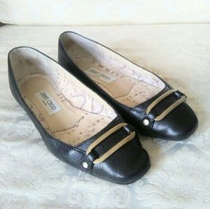 Authentic Jimmy Choo black shoes