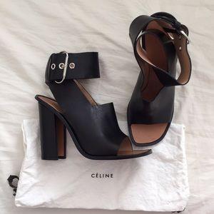 Céline Ankle-wrap Heels