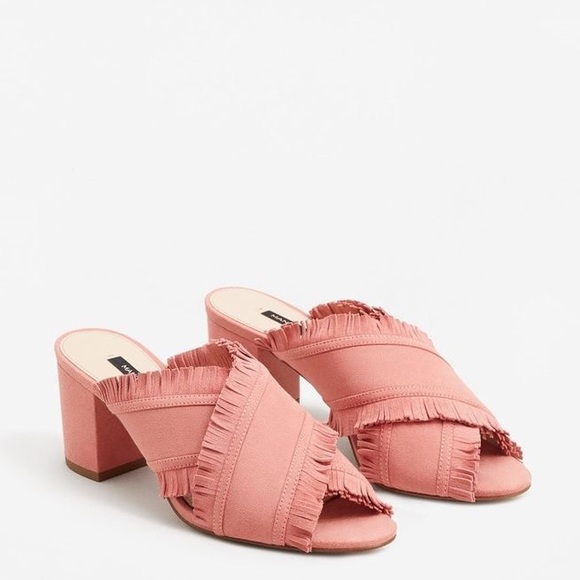 sale lowest price shop Mango Vic Pink Mules Sandals cheap sneakernews sale low price fee shipping free shipping recommend gha17jPR
