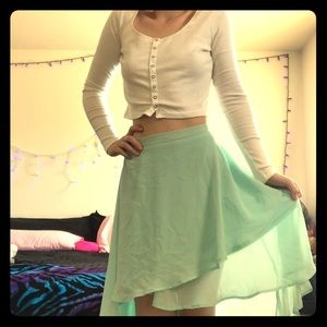 Pretty High-Low Skirt