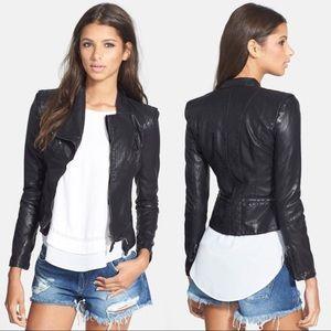🆕NWOT Blank NYC Faux Leather Moto Jacket