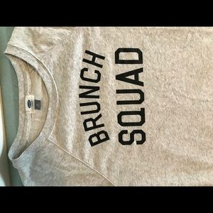 """Brunch Squad"" Jersey Sweater"