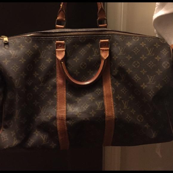 distinctive style harmonious colors highly praised Louis Vuitton Authentic and Vintage Duffle Bag