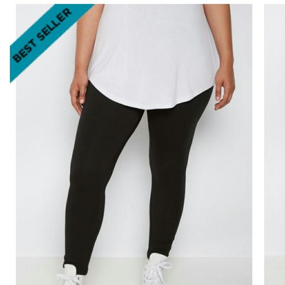 245efb6ae4d NWT Plus Size High Waist Soft Black Legging