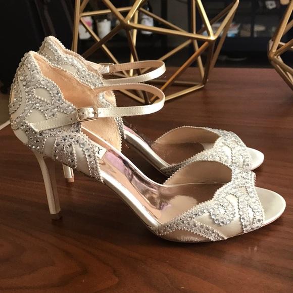 36182017912a8 Badgley Mischka Shoes | Belinda Ankle Strap Pumps | Poshmark