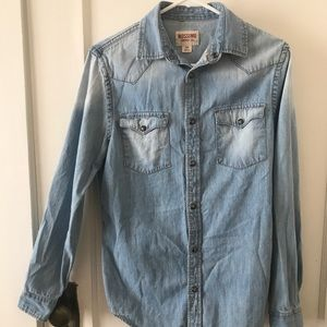 Mossimo denim shirt