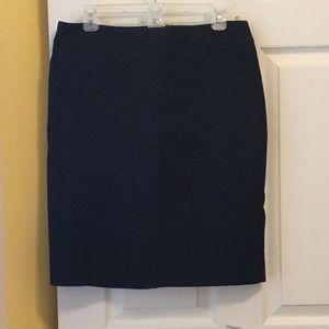 Merona Black  size 12 mini skirt with pockets