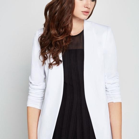 c3cbcf97db9 BCBGeneration Jackets & Coats | Welt Pocket Tuxedo Blazer White Xxs ...