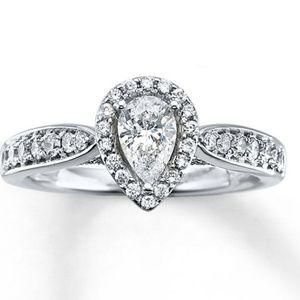 Jewelry - Diamond Engagement Ring 1 ct tw Pear-shape 14K