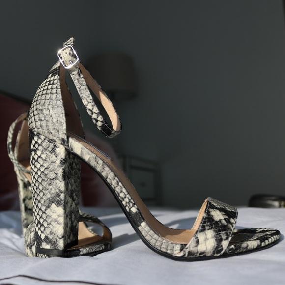 312a923c644 Steve Madden CARRSON Snakeskin Sandals. M 59b85ed09c6fcfe3b800f77b