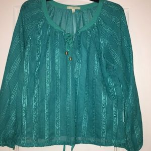 Tops - Beautiful Teal Blouse