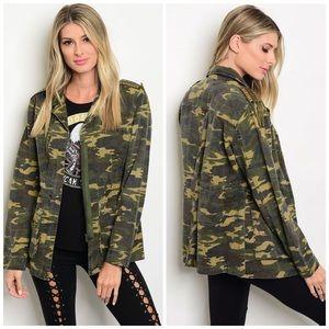 Jackets & Blazers - 🎉2xHP✨New! Trendy Camouflage Utility Jacket