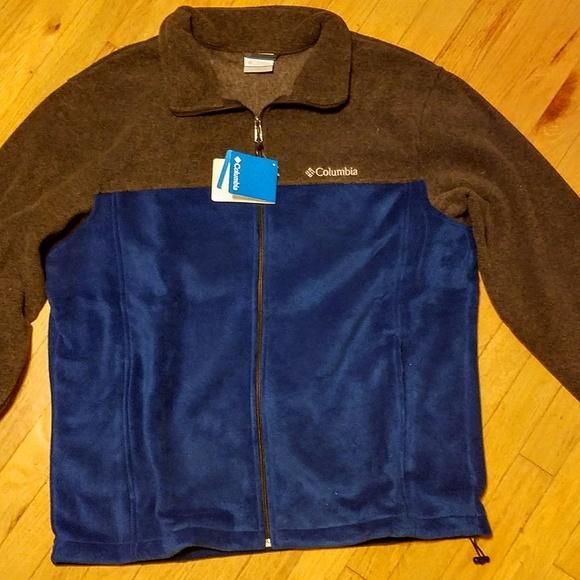 521587abd5d Columbia Jackets & Coats | Mens Flattop Ridge Fleece Jacket Marine ...