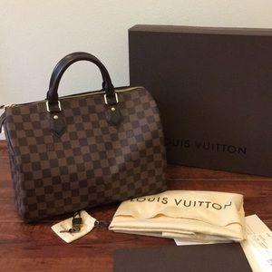 💯Authentic Louis Vuitton Speedy 30
