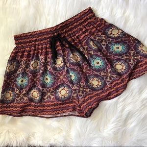 Boho Beach Loose Summer Shorts