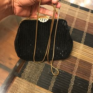 Use one xmas   Beautiful evening bag   Black w